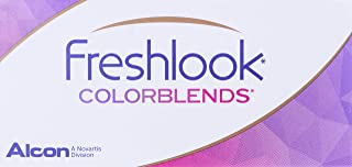 Freshlook Colorblends Brown (-1.75) - 2 Lens Pack