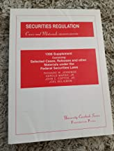 Securities Regulation Cases and Materials: 1996 Supplement to Seventh Edition