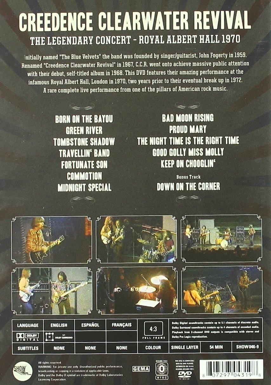 Creedence Clearwater Revival   Royal Albert Hall Amazon.de DVD ...