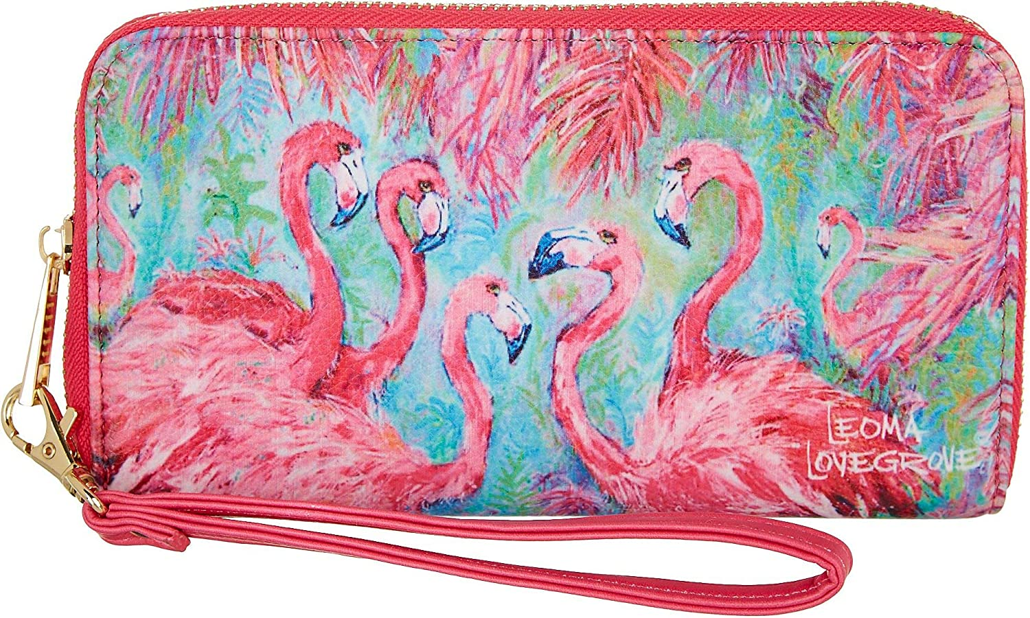 Leoma Seasonal Wrap Introduction Lovegrove Pink Power Super Special SALE held Size Wallet One multi