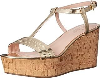 Best gold cork wedge sandals Reviews