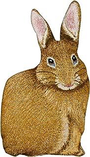 Manual Woodworkers & Weavers Bunny Hop Hare Raising Rabbit Shaped Pillow, 17.5