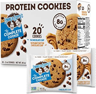 Sponsored Ad - Lenny & Larry's The Complete Cookie Snack Size, Chocolate Chip & Peanut Butter Chocolate Chip, Soft Baked, ...