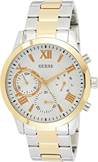 GUESS Womens Quartz Watch, Analog Display and Stainless Steel Strap W1070L8