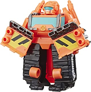 Transformers Playskool Heroes Rescue Bots Academy Wedge The Construction-Bot Converting Toy, 4.5