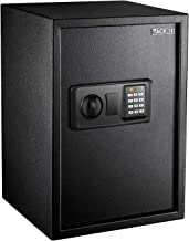 TACKLIFE 1.8 Cubic Feet Home Safe Large Electronic Digital Safe with Instruction Light for Money Safe Cash Jewelry Passpor...