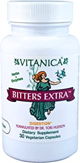 Vitanica - Bitters Extra - Digestion Support - 30 Vegetarian Capsules