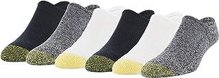Gold Toe Men's Davenport Invisible Socks, 6 Pairs