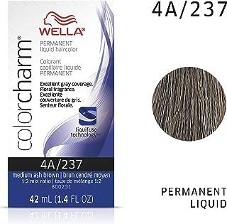 Wella Color Charm Liquid 4a Med Ash Brown, 1.42 Fl Oz