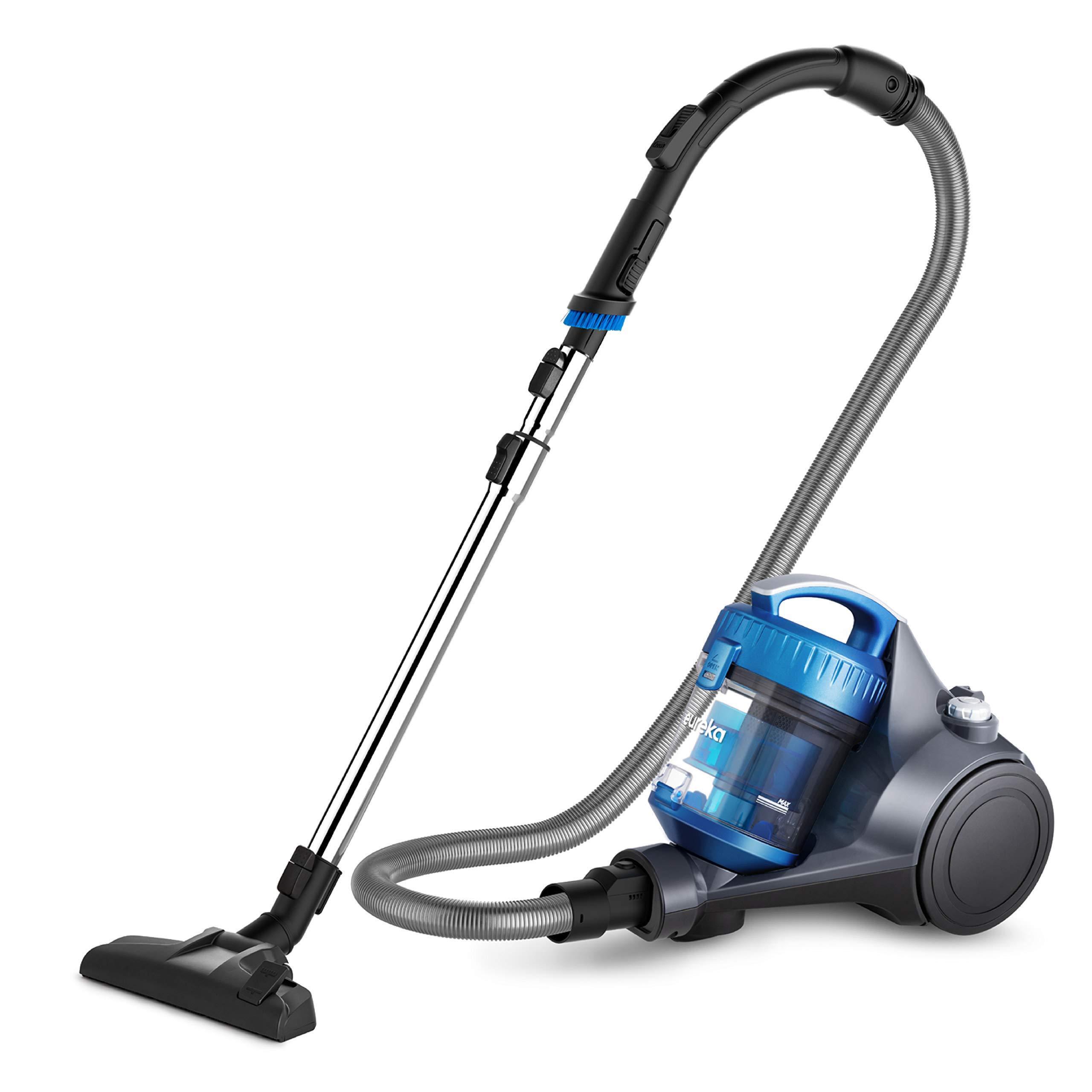 Eureka WhirlWind Limpiador de latas sin bolsa NEN110A Aspiradora ligera con cable para alfombras y suelos duros, Azul: Amazon.es: Hogar
