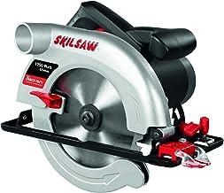 Skil 5665AA - Sierra circular con profundidad de corte de 65 mm (1250 W, conexión para aspirador integrada, guía paralela, hoja de diámetro 184 mm)