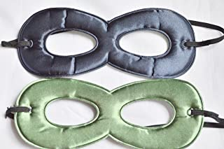 [ブルターニュ]Brittany's SUPER HERO COSTUME MASK FOR KIDS IN NAVY/GREEN NAVY AND GREEN MASK [並行輸入品]