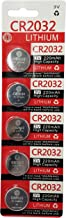 GI 3 Volt 2032 Battery, CR2032 Lithium 3v Coin Cell Watch Battery (5)