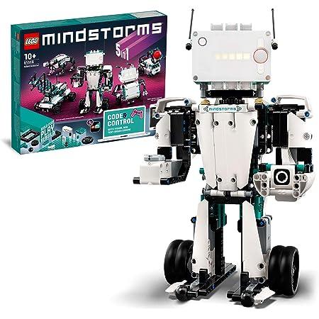 LEGO MINDSTORMS Robot Inventor Kit di Robotica, Giocattolo Interattivo Programmabile da Codificare Controllato da App 5in1 per Bambini, 51515