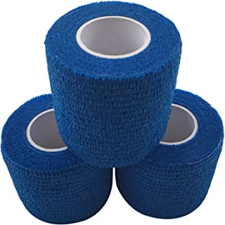 zechy Grip Tape - Hockey, Baseball, Lacrosse, Anything You Need a Better Grip on - 2 inch by 15 feet (3 Pack)