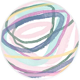 Colorful Pastel Abstract Drawer Knobs Decorative Knobs Dresser Knobs Nursery Kids Knobs Drawer Pulls