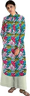 RADANYA Girls & Women's Casual Stylish Front Button Closert Cotton Kurti/Kurta