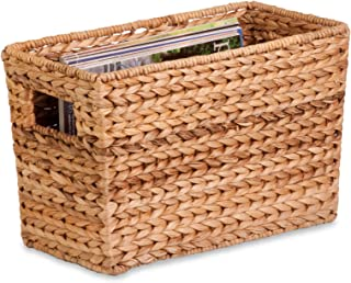 Best Honey-Can-Do STO-02883 Magazine Water Hyacinth Basket, 15.5 L x 5.3 W x 10 H in Review