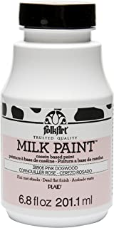 FolkArt Milk Paint in Assorted Colors (6.8 Ounce), 38906 Pink Dogwood