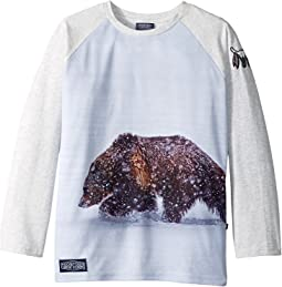 Toobydoo - The Grizzly Baseball Tee (Infant/Toddler/Little Kids/Big Kids)
