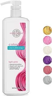 Keracolor Clenditioner Color Depositing Conditioner Colorwash, 6 Colors | Vegan and Cruelty Free, Liter