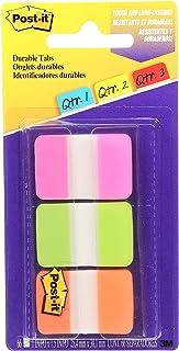Post-it 686-PGO Tabs, 25.4 mm x 38.1 mm, 66 Tabs Pink, Green, Orange