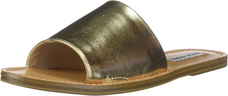 Steve Madden Womens Grace Flat Sandals