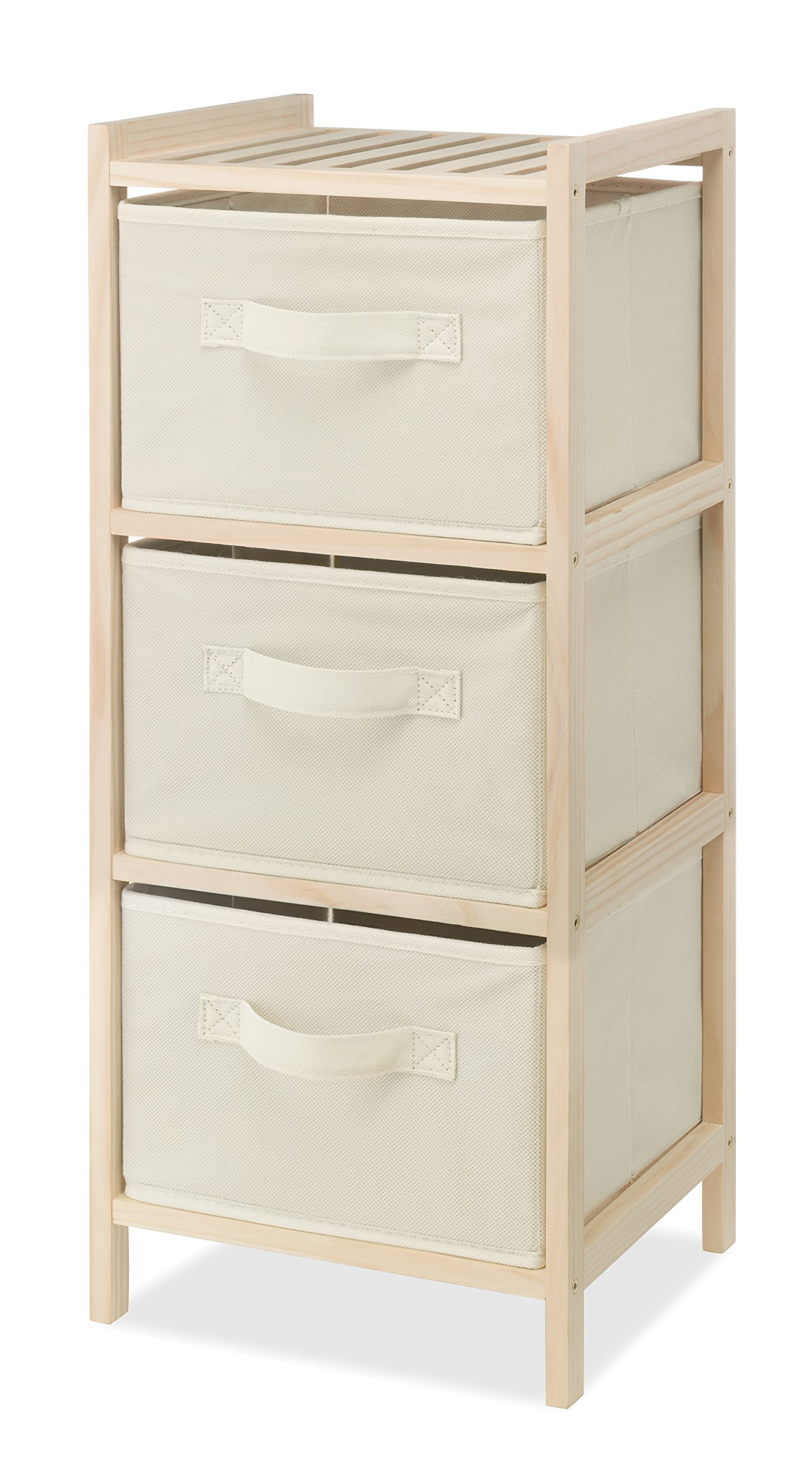 Whitmor Drawer Wood Chest Compact