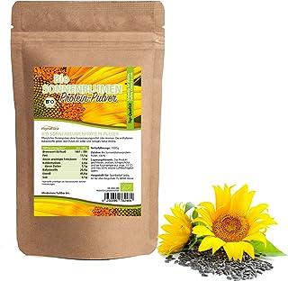 Mynatura Bio Sonnenblumenmehl Protein I Pulver I Eiweiss I Süß-nussiger Geschmack I Naturprotein I Sportler I Vegan I Beutel 1 x 1000g