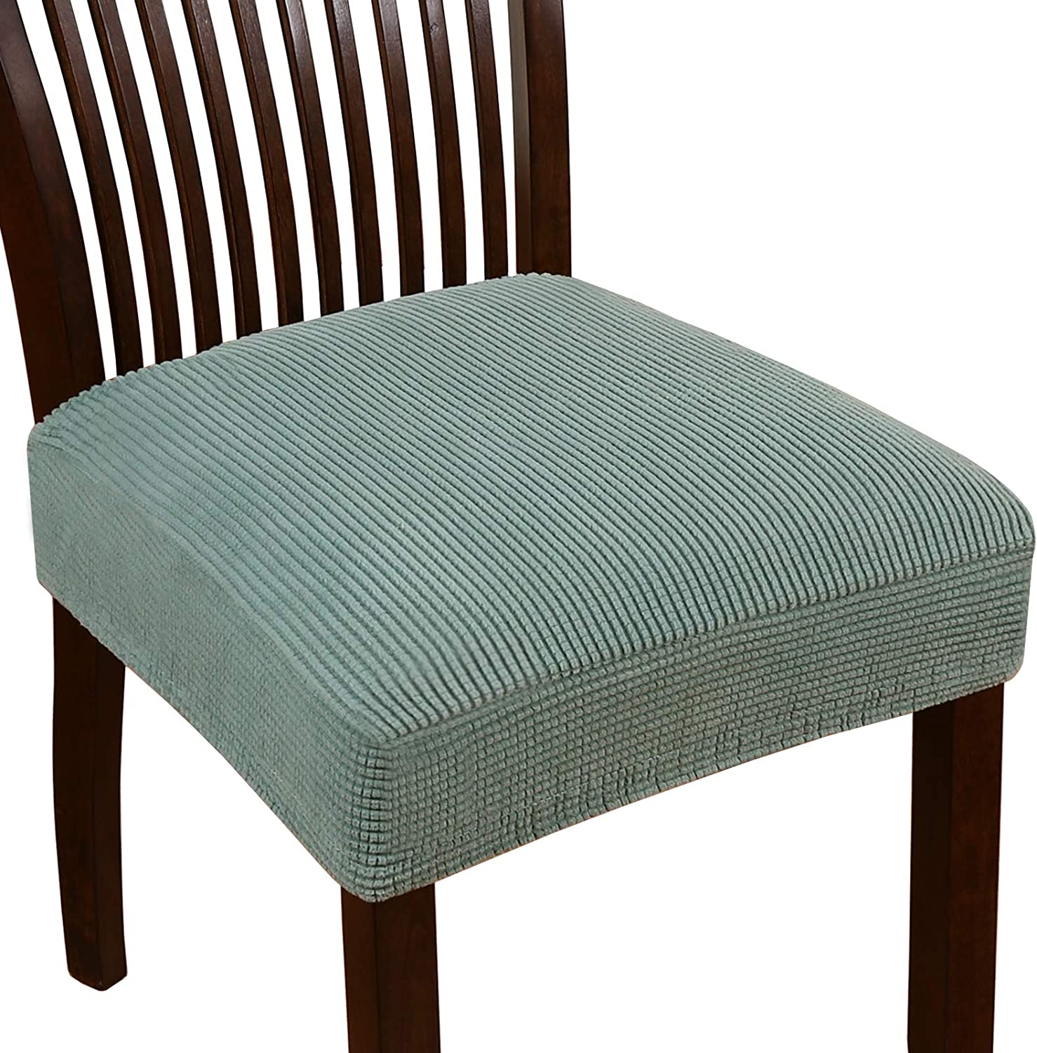 Turquoize 予約販売 Stretch Jacquard Chair for 百貨店 Covers Din Seat
