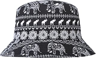 56ba01e0629 ZLYC Unisex Cute Unique Print Travel Bucket Hat Summer Fisherman Cap