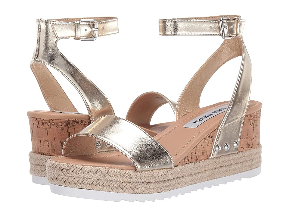8a272c0a0b6 Steve Madden Jaide (Gold Metallic) Women's Shoes