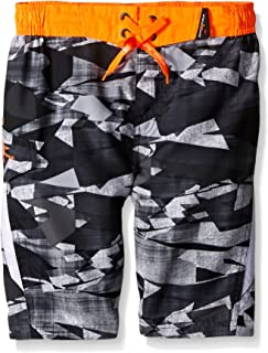 ZeroXposur Boys ' Integral Camo Swim Trunk