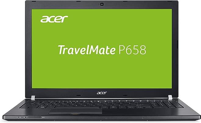 Acer TravelMate P658-G2-MG-759U 39 6 cm  15 6 Zoll Full-HD IPS matt  Laptop  Intel Core i7-7500U  8GB RAM  2x 256GB SSD  NVIDIA GeForce 940MX  2GB VRAM   Win 10 Pro  schwarz