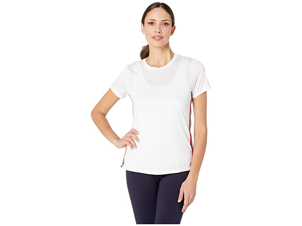 SHAPE Activewear Track Star Tee (White) Women