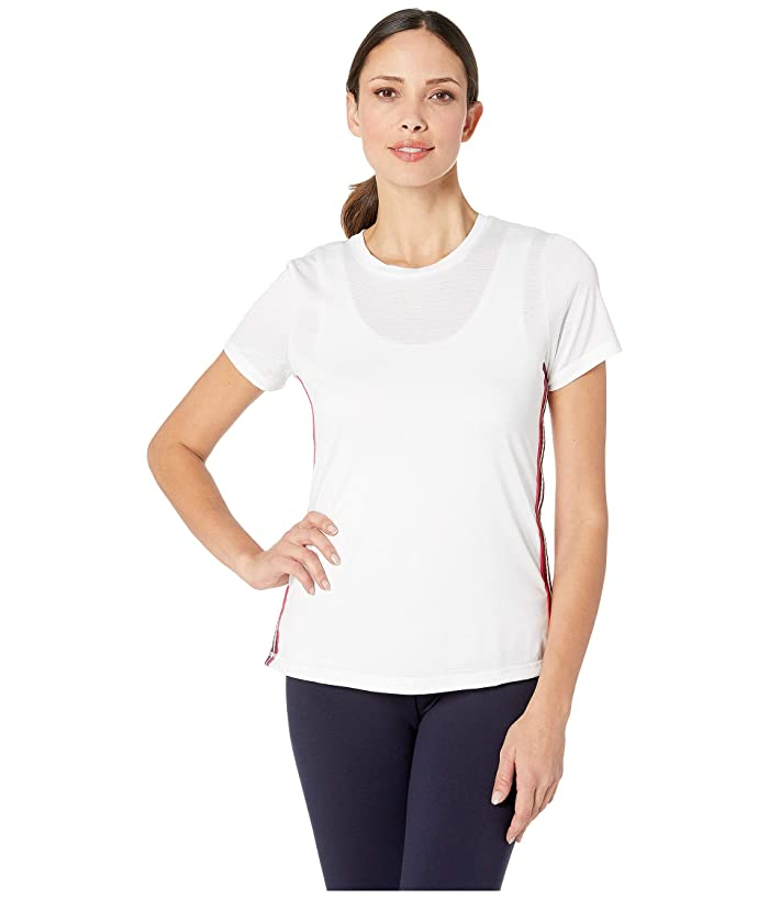 SHAPE Activewear Track Star Tee (White) Women