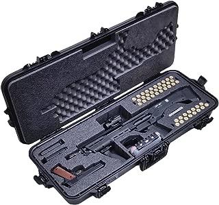 Case Club Pre-Made Waterproof Kel-Tec KSG and Standard Manufacturing DP-12 Shotgun Case with Accessory Box and Silica Gel to Help Prevent Gun Rust