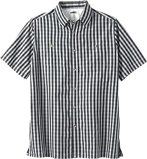 KingSize Men's Big & Tall Easy-Care Short-Sleeve Plaid Sport Shirt