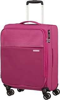 American Tourister Unisex Adults expandable, Pink (Magenta Haze), Spinner S erweiterbar (55 cm-48.5 L)
