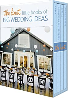 Sponsored Ad - The Knot Little Books of Big Wedding Ideas: Cakes; Bouquets & Centerpieces; Vows & Toasts; and Details