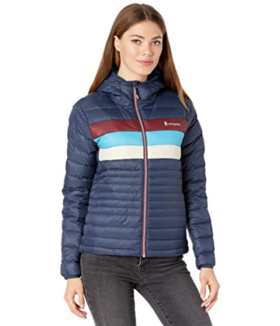 Cotopaxi Fuego Down Hooded Jacket (Maritime Stripes) Women
