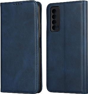 Flip Case Cover för Huawei P Smart 2021 (blå)