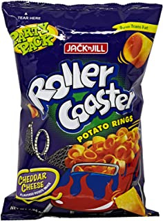 Jack N Jill Roller Coaster Potato Rings Cheese - 225 gm