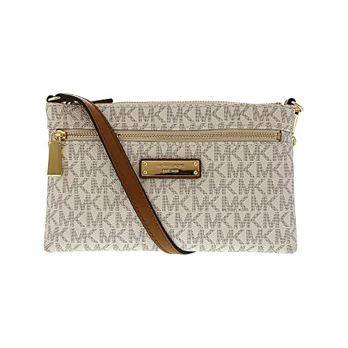 5f5176412de460 MICHAEL Michael Kors Jet Set Travel Large Logo Wristlet