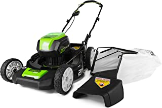 Greenworks PRO 21-Inch 80V Cordless Lawn Mower, Battery and Charger Not Included 2502202