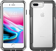 Pelican C35030-000A-CLCG iPhone 8 Case | Voyager Case - fits iPhone 6s/7/8 (Clear/Grey)