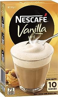 NESCAFÉ Vanilla Latte Coffee Sachets 10 Pack