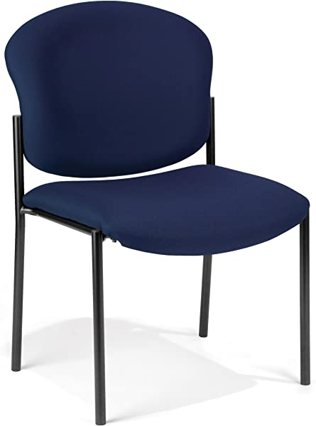 OFM 408 804 Armless Stack Chair Navy