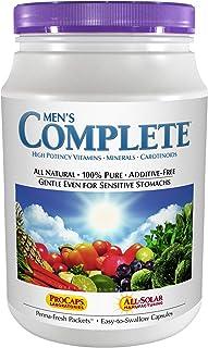 Andrew Lessman Multivitamin - Men's Complete 60 Packets – High Potencies of 30+ Nutrients, Essential Vitamins, Minerals & ...