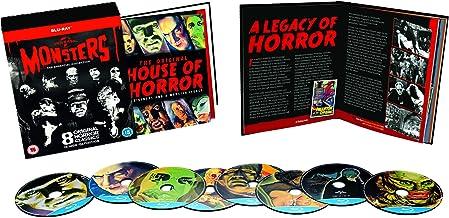 Universal Classic Monsters: The Essential Collection (8 Blu-Ray) [Edizione: Regno Unito] [Reino Unido] [Blu-ray]